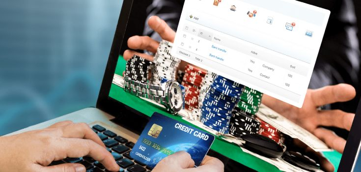How to deposit at an online casinos